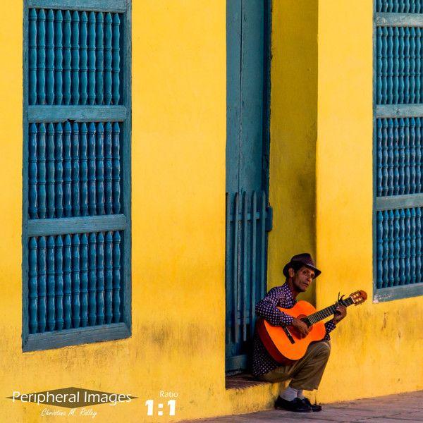 Cuba Photography, Cuba Print Art, Yellow Blue Wall Art, Cuban ...