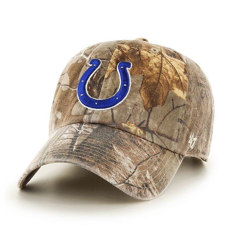 Adult  47 Brand Indianapolis Colts Realtree Clean Up Adjustable Cap 6eb9eb94b
