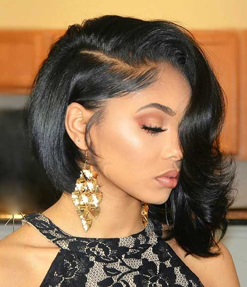 Bob Haircut And Hairstyle Ideas Long Hair Styles Black Girl Prom Hairstyles Short Hair Styles