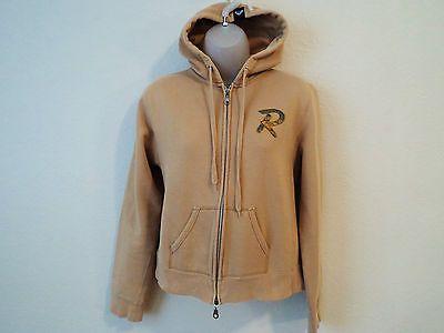 Women's Beige Hoodie Sweatshirt by Roxy - Size  Medium