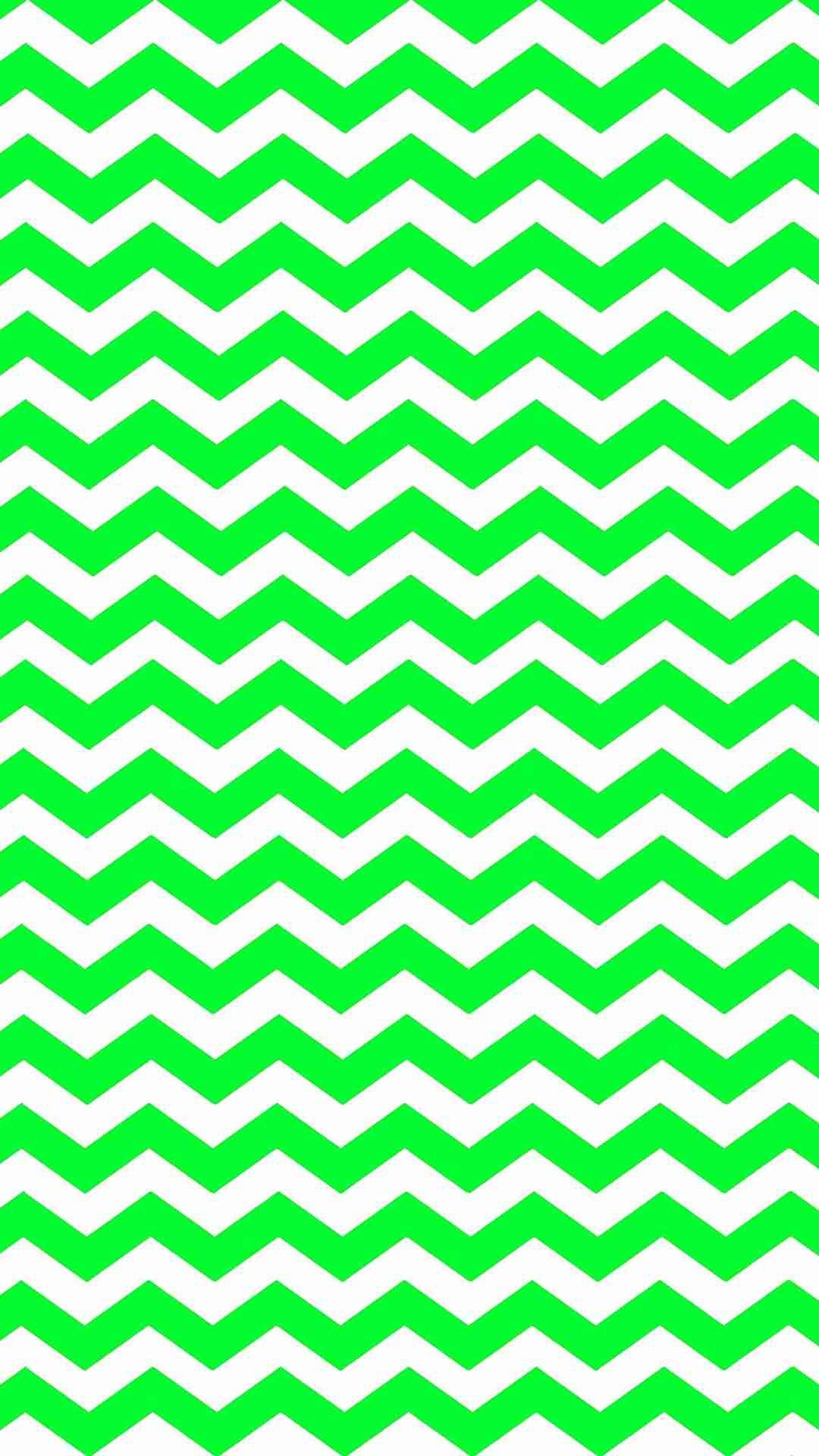 eyecatching green zigzag iphone 6 plus wallpaper