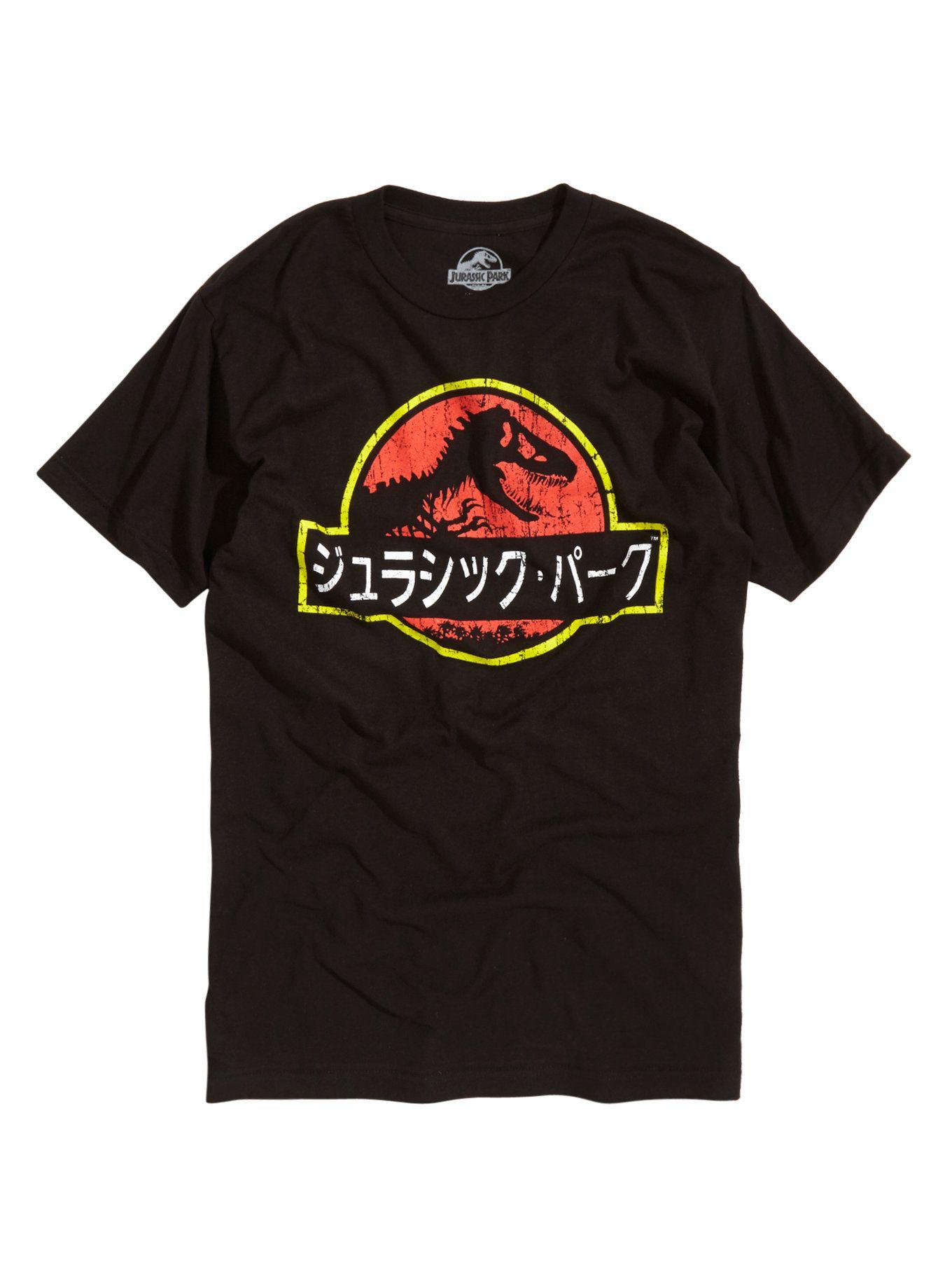 Guys T Shirts Officially Licensed Movie Tees Hot Topic Jurassic Park T Shirt Tshirt Logo Shirts