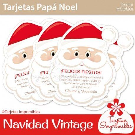 Decoraciones navideñas estilo vintage en color rojo y beige o ...