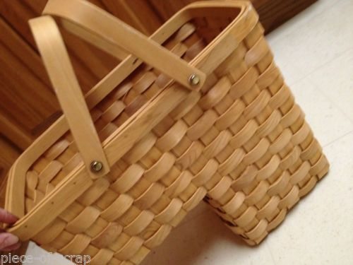 Weaved Step Basket Stairs Stairway Weave W/ Handles TASKETS RENAISSANCE  Woven #weaved #woven
