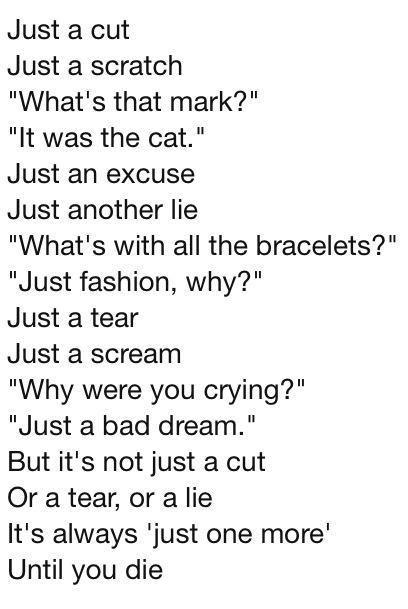 slit wrist quotes - Google Search | Quotes | Pinterest ...