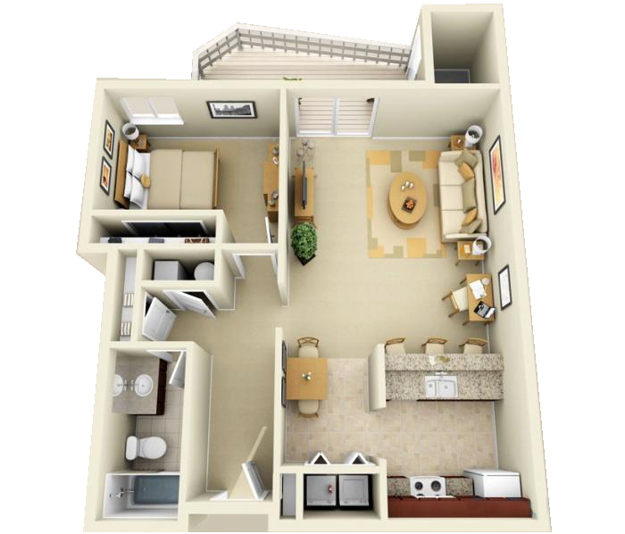 Enjoyable Luxury 1 2 And 3 Bedroom Apartments In Indianapolis In Download Free Architecture Designs Sospemadebymaigaardcom