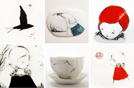 Ceramic Girlies