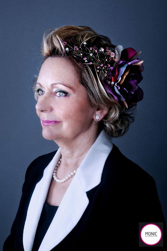 Oportunidades impresionantes peinados para madrinas Fotos de cortes de pelo estilo - Tocados Monic para madrina: la segunda gran protagonista ...