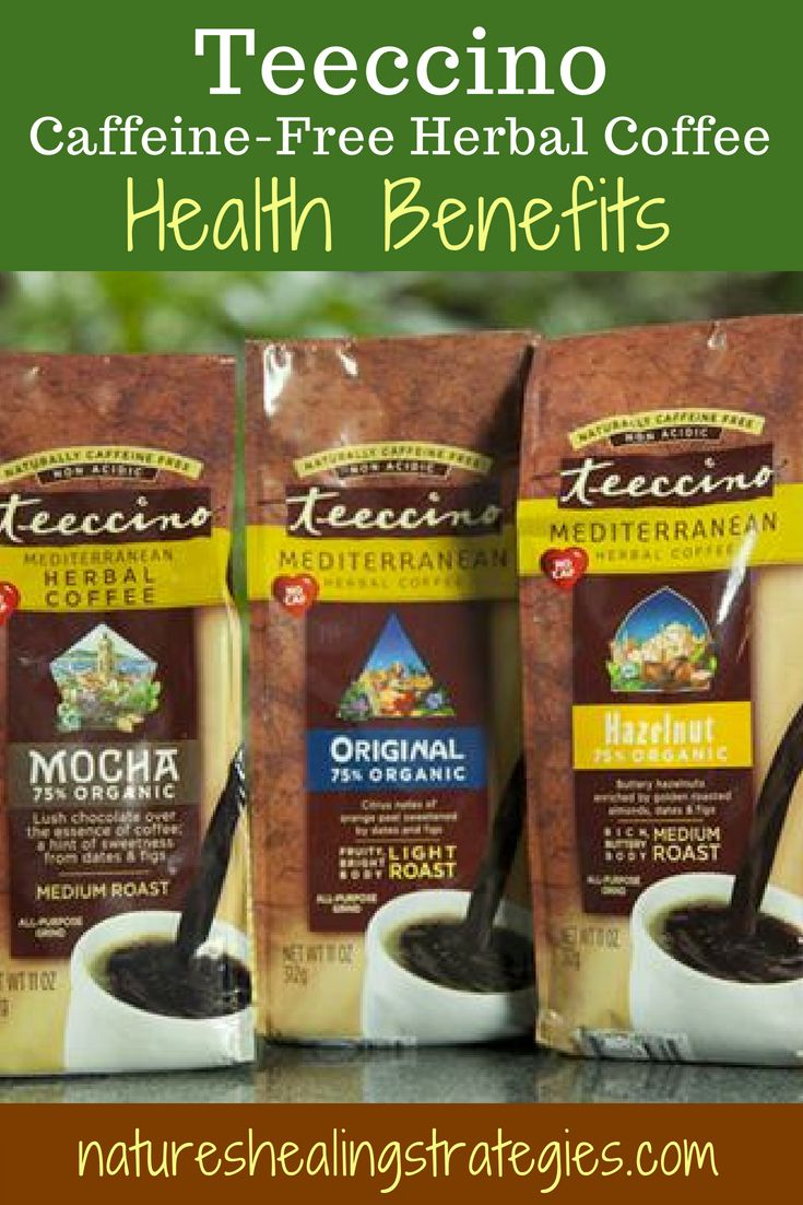 Teeccino caffeinefree herbal coffee review herbal