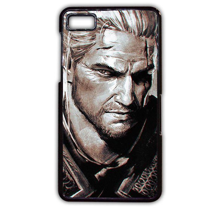 Geralt Of Rivia The Witcher TATUM-4644 Blackberry Phonecase Cover For Blackberry Q10, Blackberry Z10