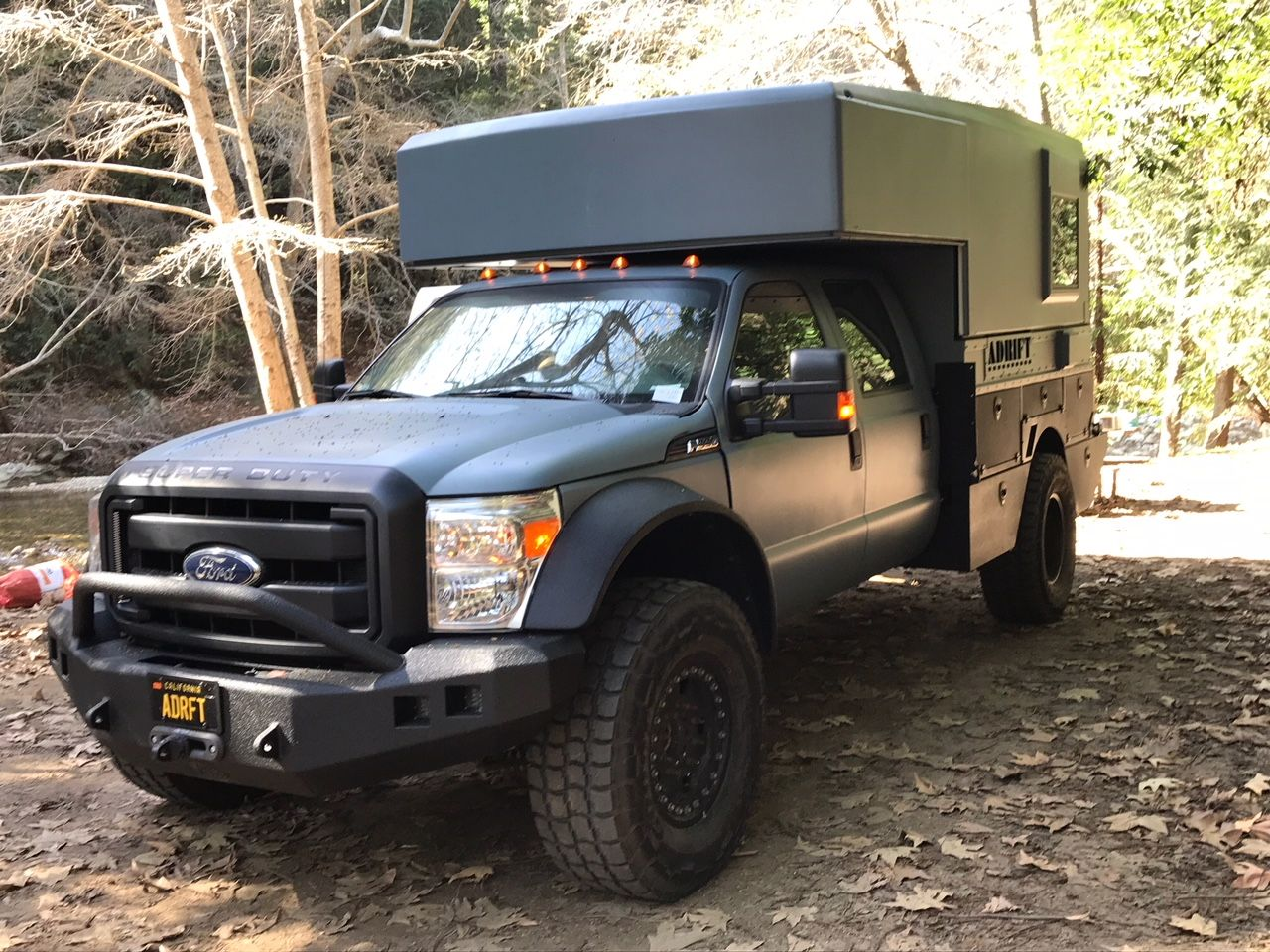 Adrifters F550 Surf Camper Build Adrift Motorhome Expedition
