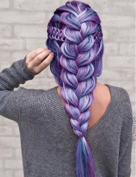 10-braided hairstyle, like a piece of art we cant just say weave