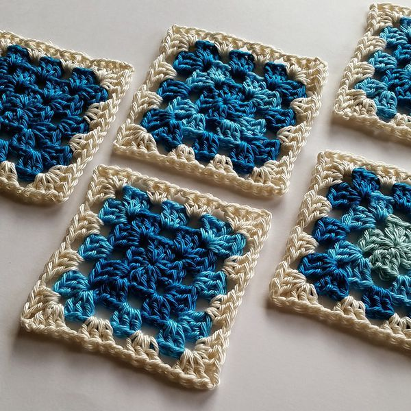 The Best Easy, Free Granny Square Crochet Patterns | Granny squares ...