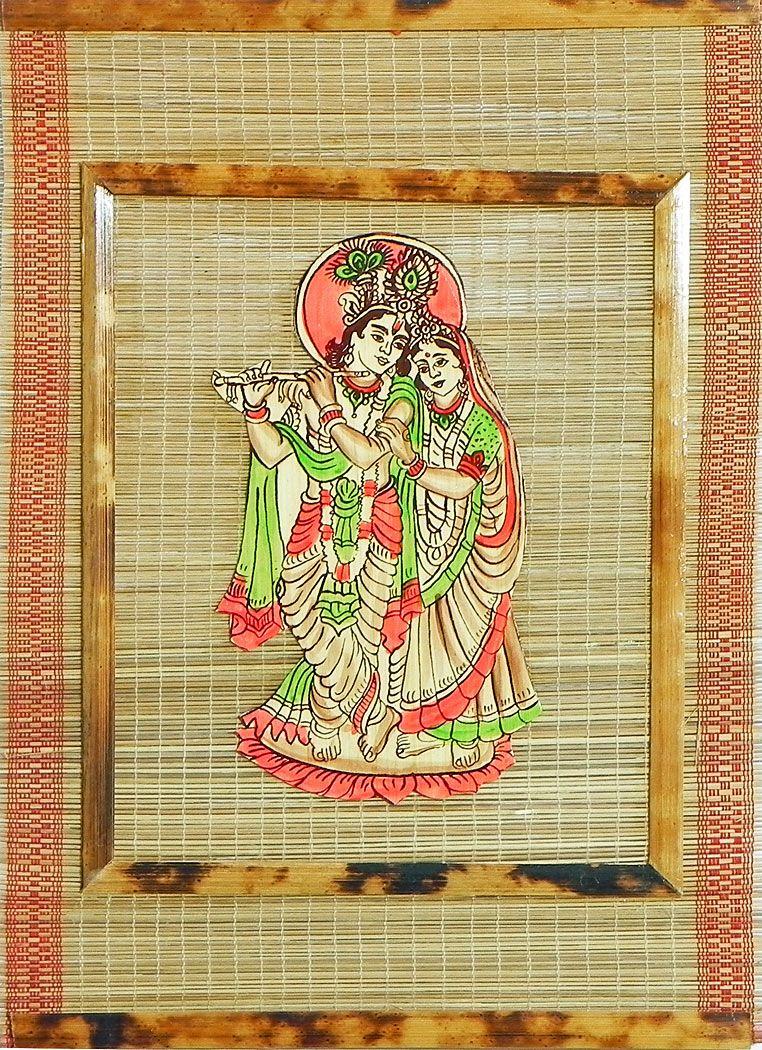 Radha Krishna - Wall Hanging | Krishna, Wall hangings and Radhe krishna