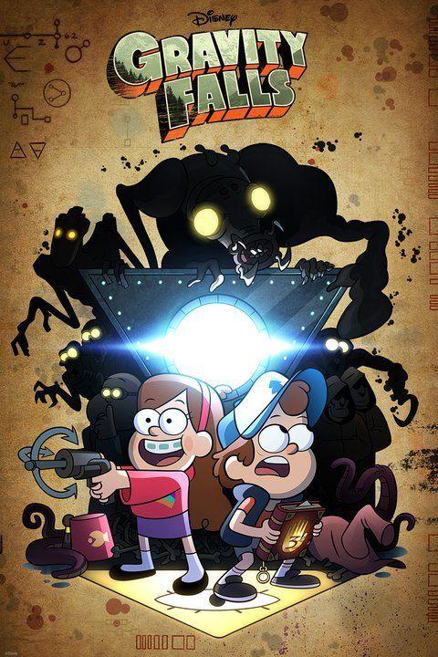 Gravity Falls Wallpaper Phone Gravity Falls Poster Disney Melhores Desenhos Animados