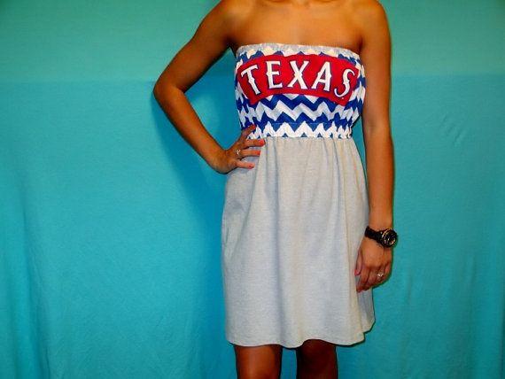 Texas Rangers Game Day Dress Etsy Gameday Dress Dresses Texas Rangers