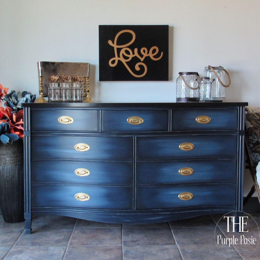 Blended Blue Dresser in 2020   Classy furniture, Furniture ...