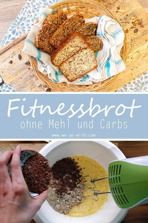 Protein bread recipe: 3x low carb fitness bread for baking -  Are you looking for a low carb recipe...