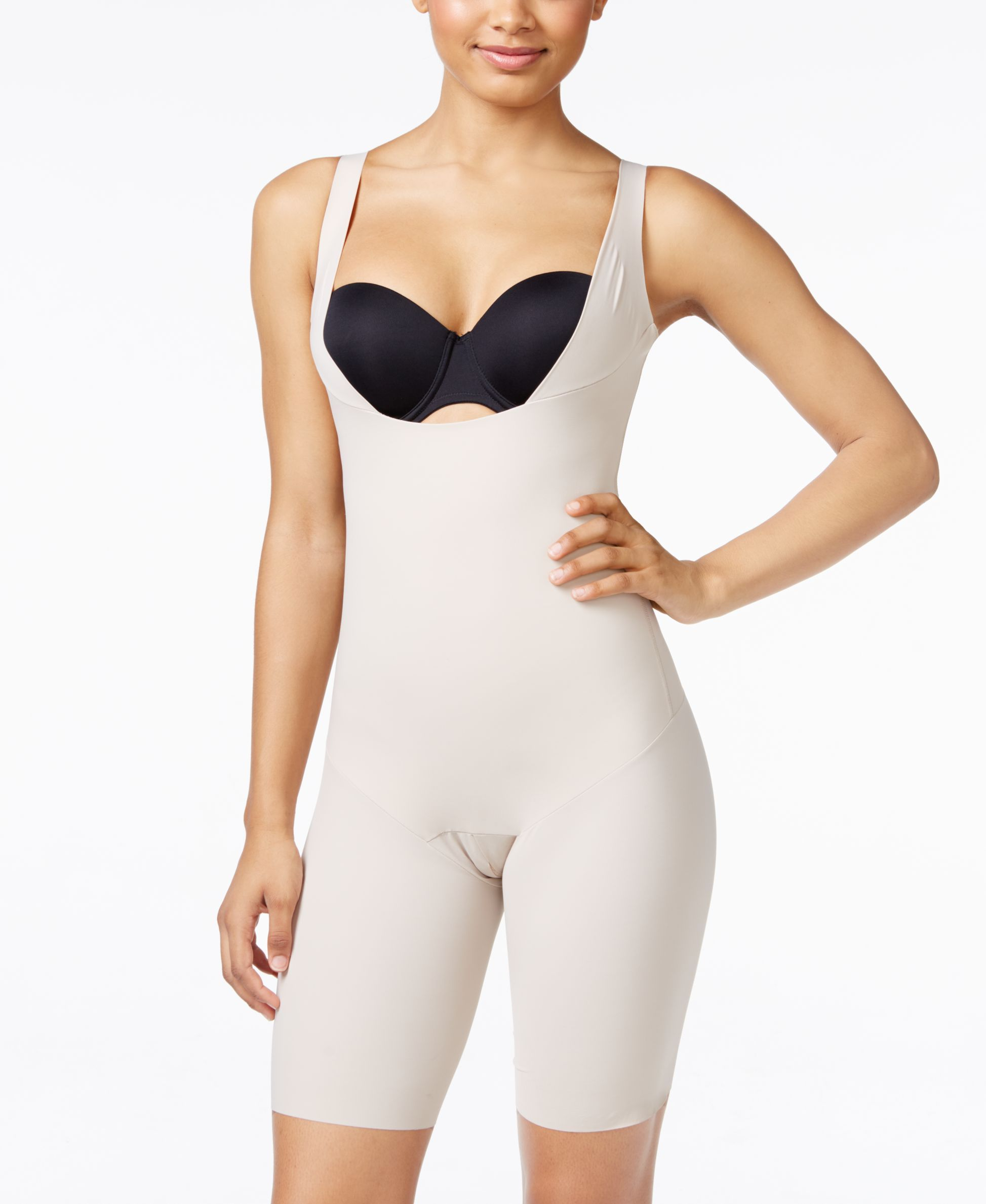 0f30c0c19 Women s Moderate Tummy-Control WYOB Smoothing Bodyshaper 018483 ...