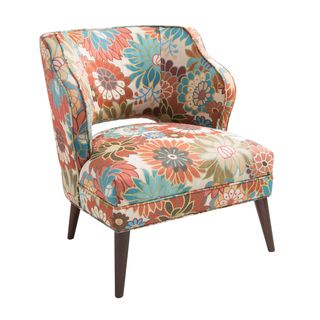 shop for madison park embry armless floral mod chair get free