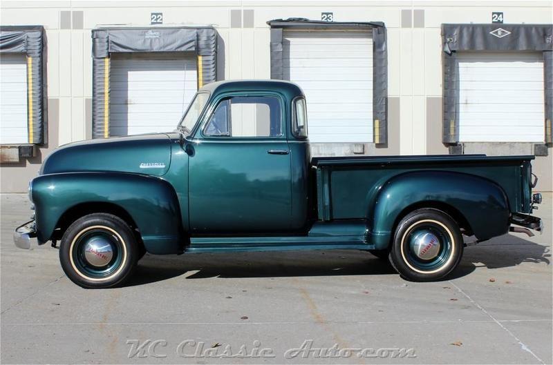 1951 Chevrolet 3100 Pickup 5 Window 4spd For Sale In Lenexa Kansas Old Car Online Chevy Trucks Pickup Trucks Classic Cars Trucks