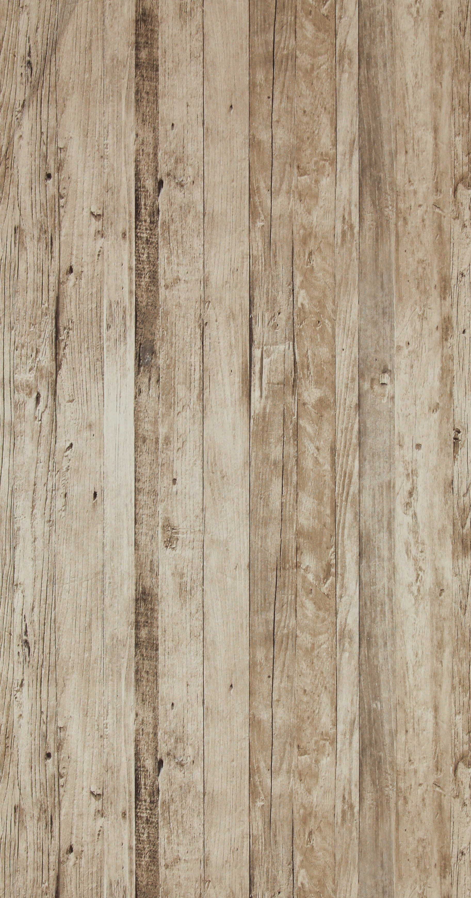 Faux Driftwood Grey Rustica Wallpaper R4333