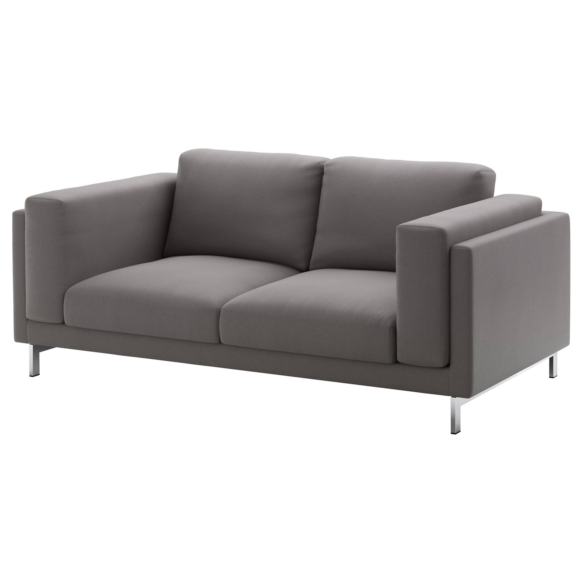 Ikea Sofa Nockeby Test Sofa Option 2 Ikea Nockeby Loveseat Risane Gray Chrome