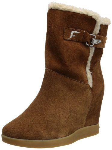 Fornarina Liesel - Botines de cuña, talla: 41, color: marrón - Braun (rust 5000) #Zapatos
