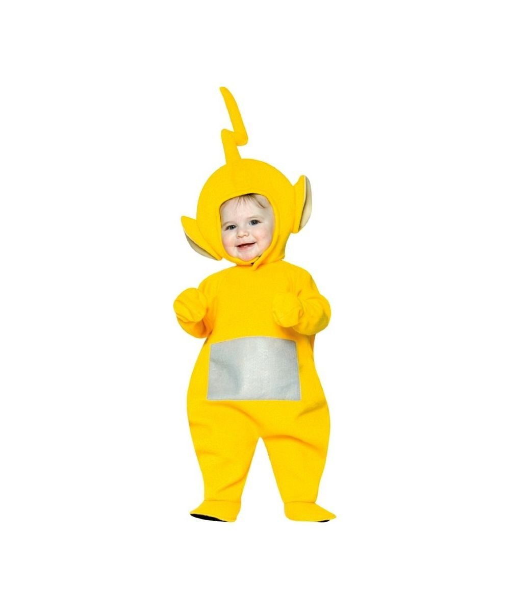 Teletubbies Laa Laa Toddler Costume 12 To 24 Months Baby Halloween Costumes Toddler Costumes Cool Halloween Costumes