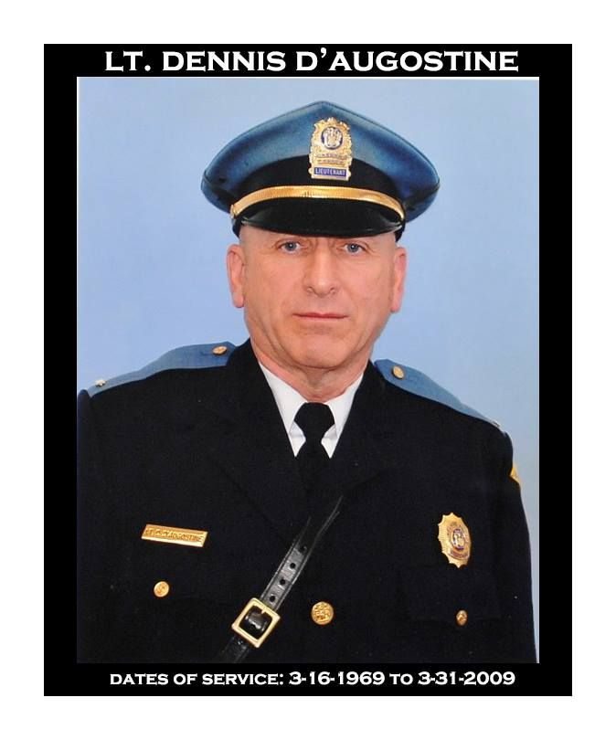 Vineland Police Department History Lt Dennis D Augostine Dates Of Serivce 3 16 1969 To 3 31 2009 Police Department History Police