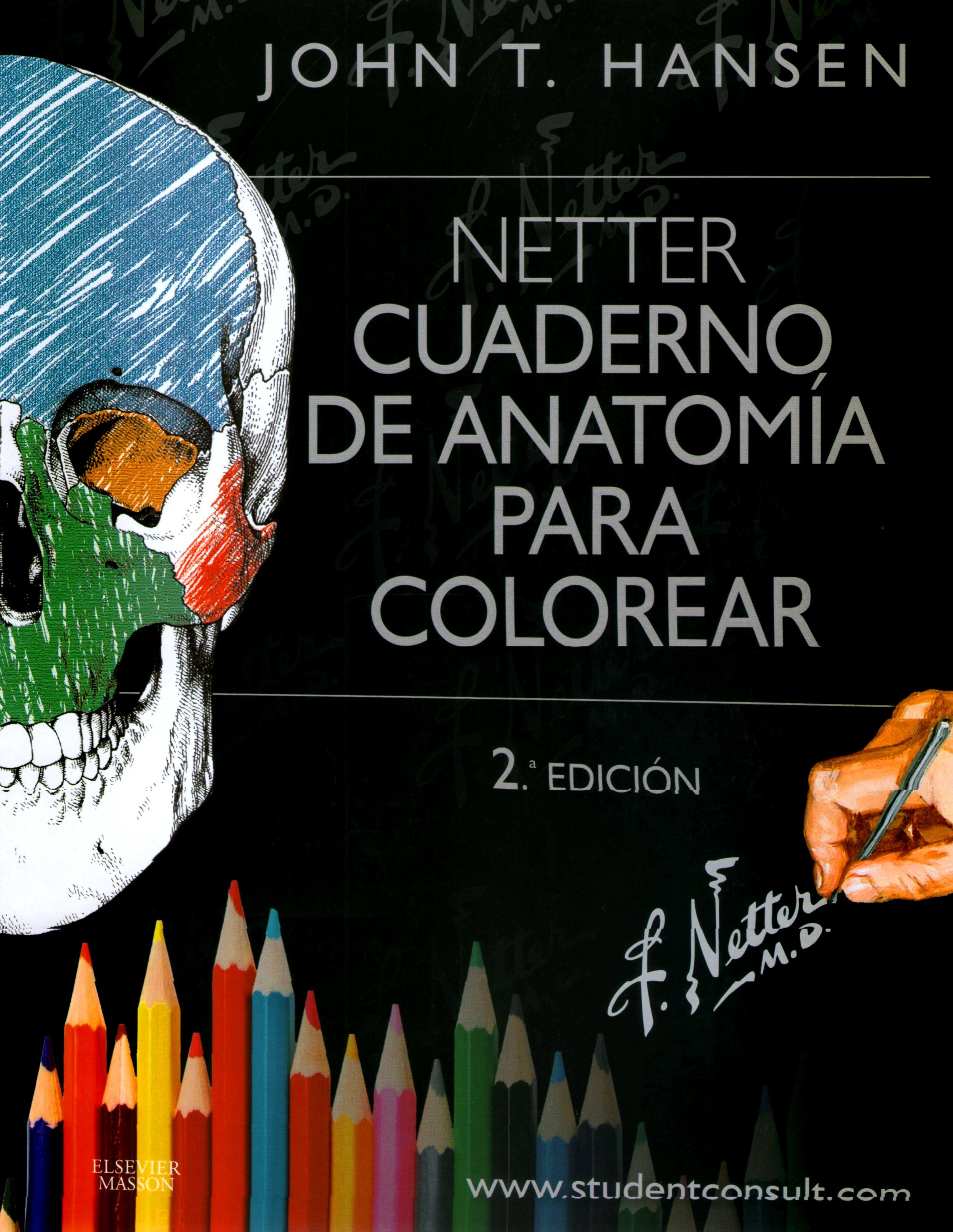 Netter. Cuaderno de anatomia para colorear | Med books | Pinterest ...