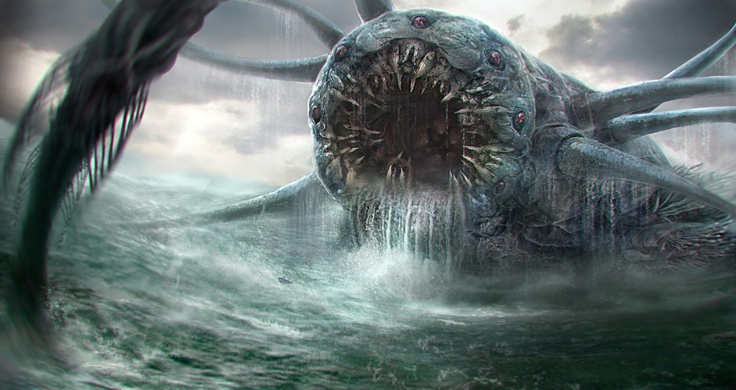 A Sea Monster Whose Inhalations Formed A Deadly Whirlpool