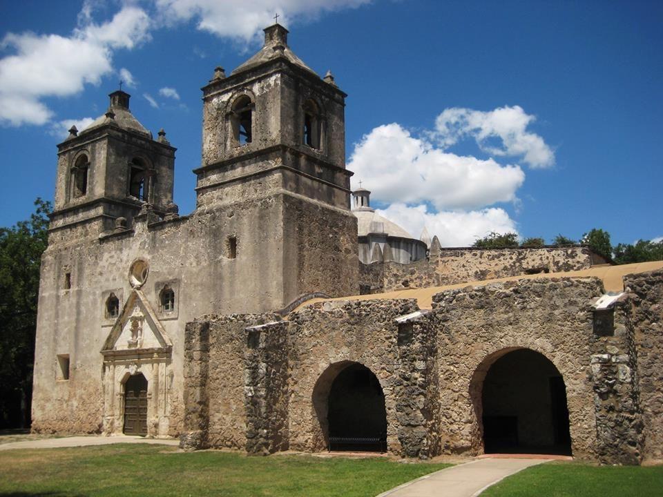 The Alamo long ago