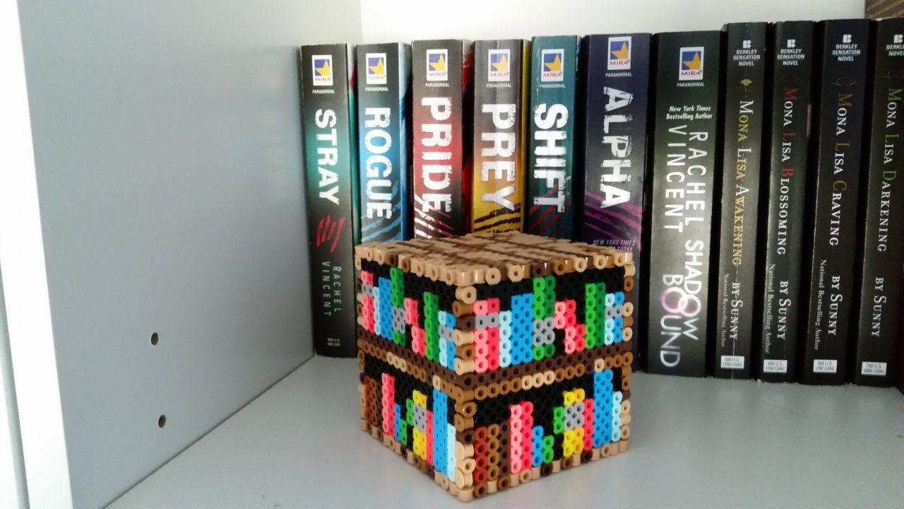 Bücherregale Minecraft 3d minecraft bookshelf by me ari alittlekajra crafts by me ari