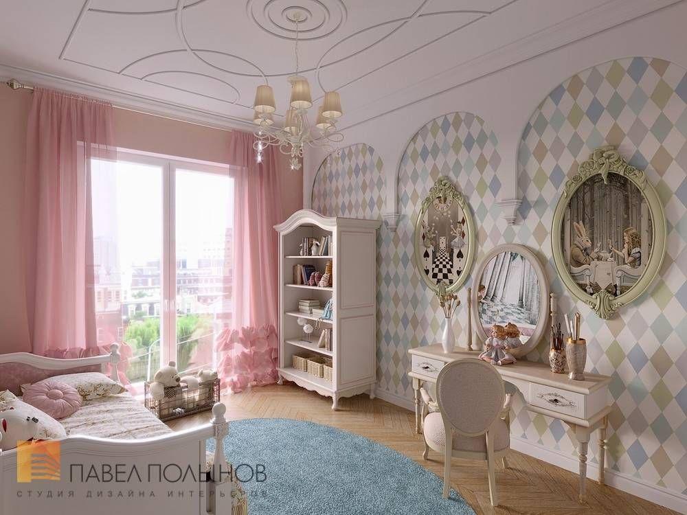 Фото детская комната для девочки из проекта «Дизайн ...