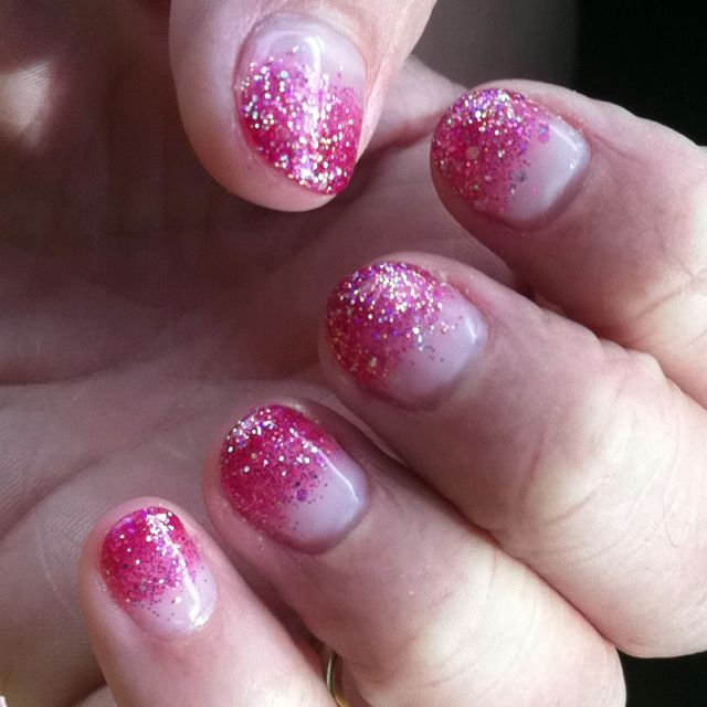 Calgel on my nails... First time and I love it!!