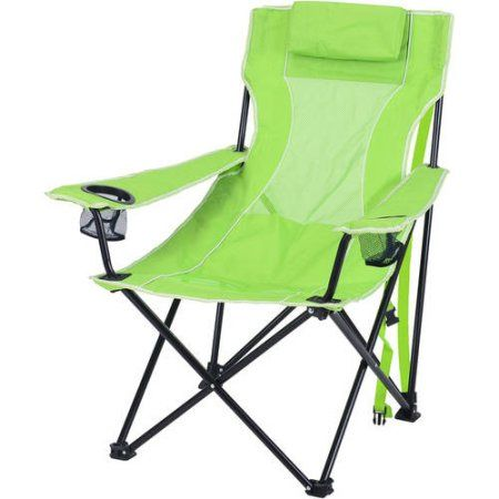 Fantastic Ozark Trail Oversized Mesh Lounge Camping Chair With Cup Theyellowbook Wood Chair Design Ideas Theyellowbookinfo