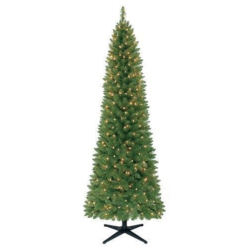7 ft artificial christmas tree brinkley pine pre lit clear lights holiday decor holidaytime