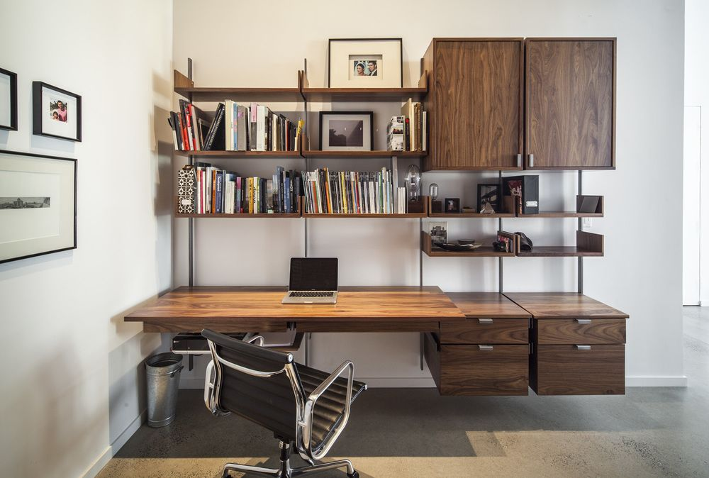 Atlas Industries: Gallery The As4 Modular Furniture System Home Credenza  With Cabinet, File Drawers And Storage Drawers. Wood Components In Solidu2026