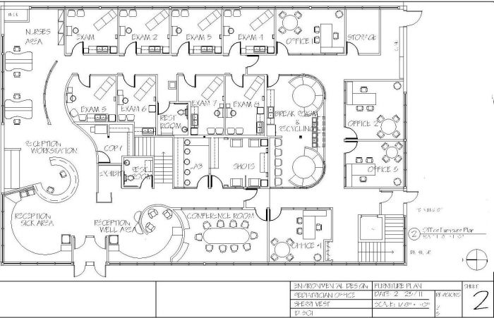 Pediatric Office Floor Plan by Sherri Vest at Coroflot.com