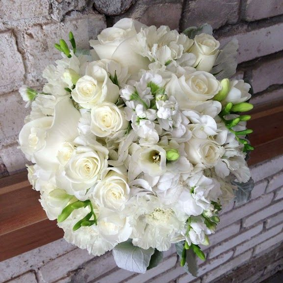 Wedding Flowers And Event Planning White Bridal Bouquet Wedding Flowers Wedding Bouquets