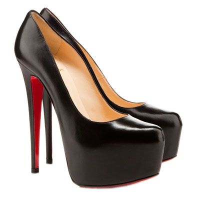 Christian Louboutin Daffodile Pumps Black by Fsliterunsale