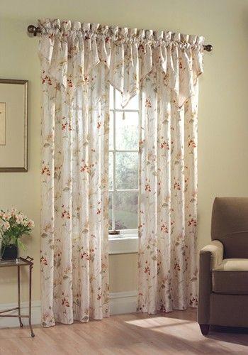 Curtain Bath Outlet Chantelle Floral Curtain Panel Cores