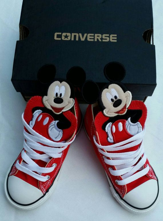 6f984681a633a Boys Custom Converse Mickey Mouse Superman by DivineUnlimited | 2 ...
