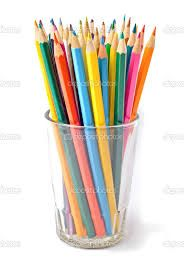 Image result for cup of pencils drawing