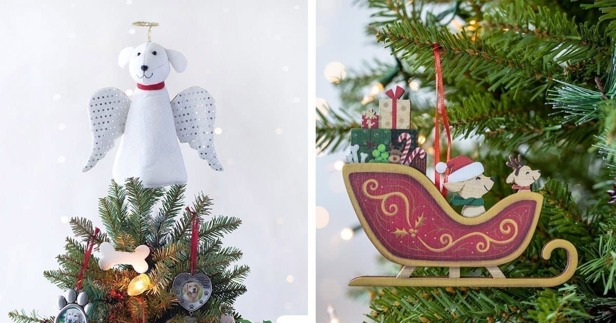 12 Pawdorable Christmas Decor Items That Will Make Your Guests Say Wow In 2020 Christmas Dog Toy Christmas Garden Flag Christmas Decorations