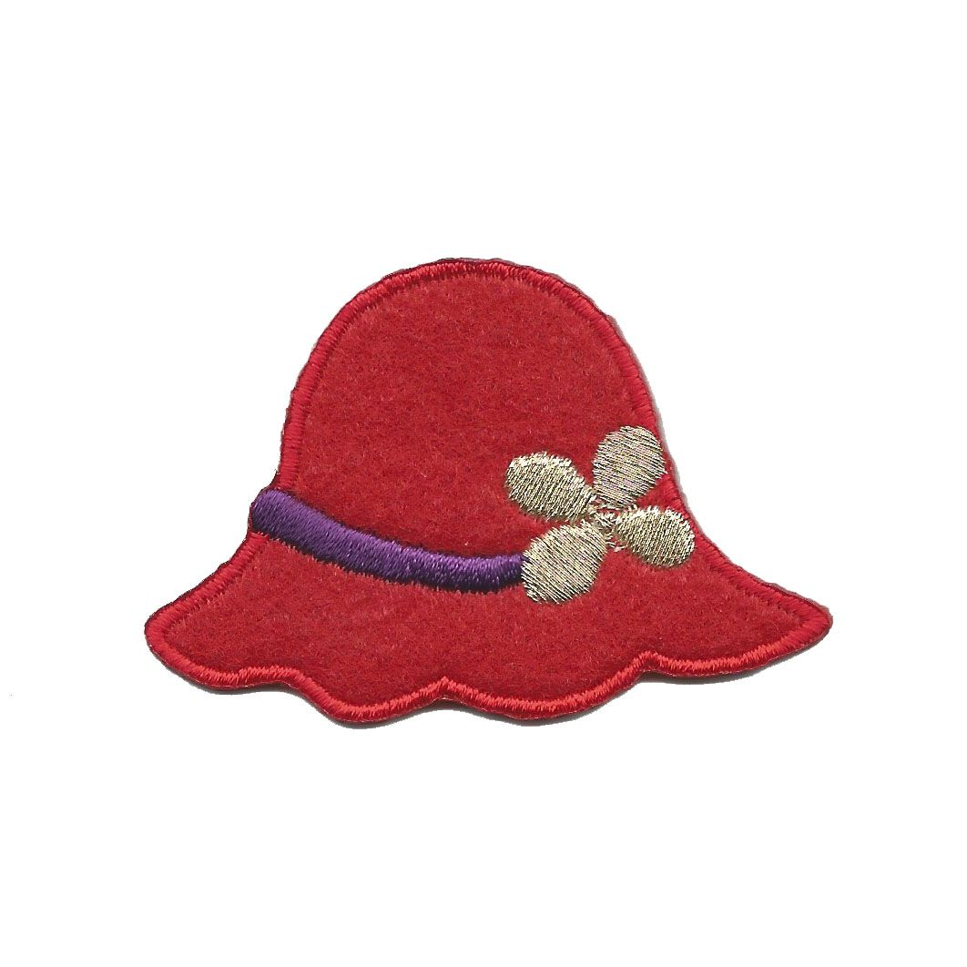 Red Hat Iron On Appliques
