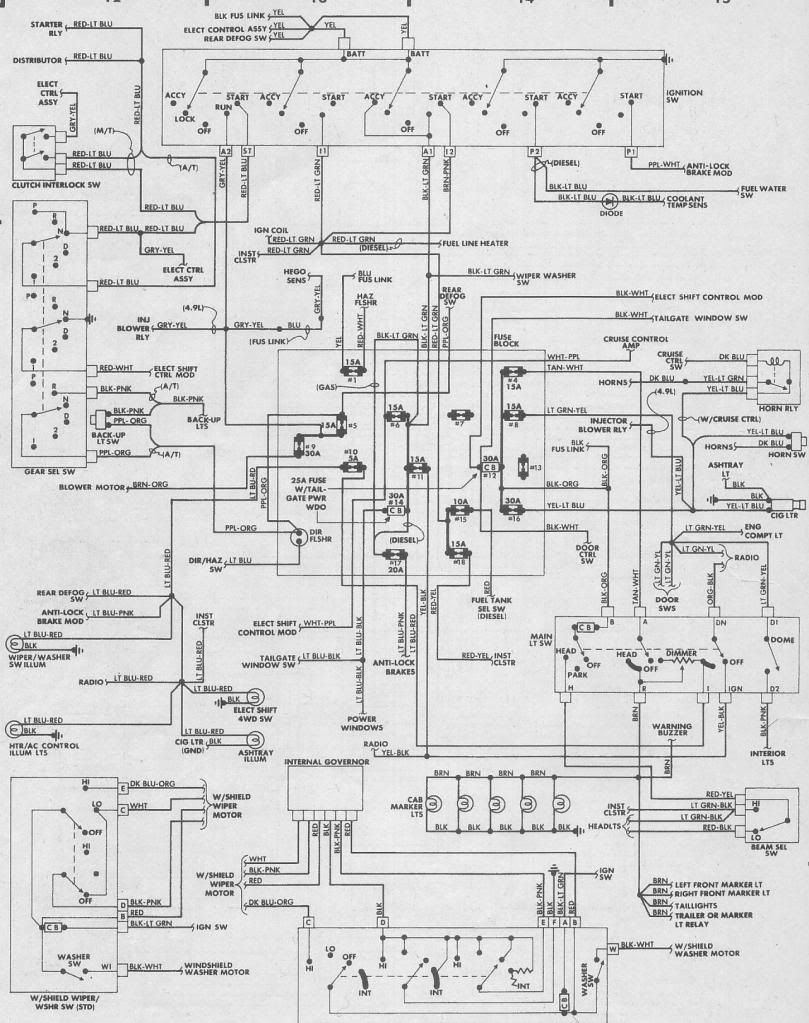 1987 Ford Ranger Wiring Diagram For Your Needs
