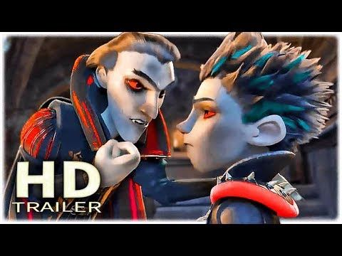 The Little Vampire Official Trailer 2 2017 New Family Animation
