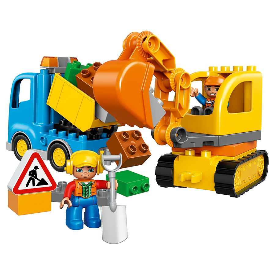 LEGO Duplo Truck & Tracked Excavator 10812 | Toys R Us Babies R Us ...